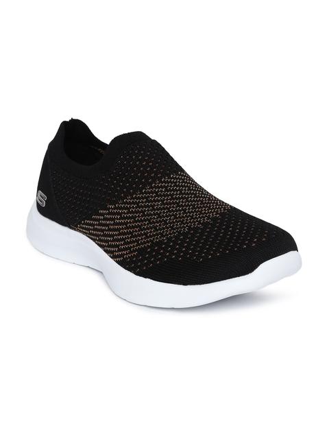 Skechers Women Black STUDIO COMFORT-PREMIERE Walking Shoes