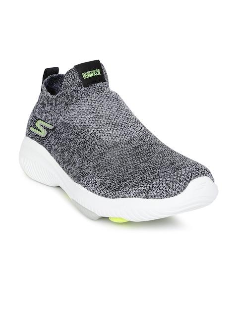 Skechers Men Grey Go Walk Revolution Ultra-Jolt Walking Shoes
