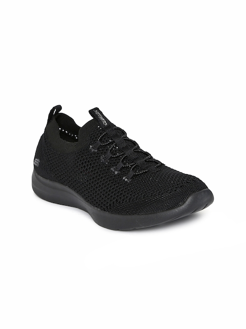 Skechers Women Black STUDIO COMFORT- LIFE-LINE Walking Shoes