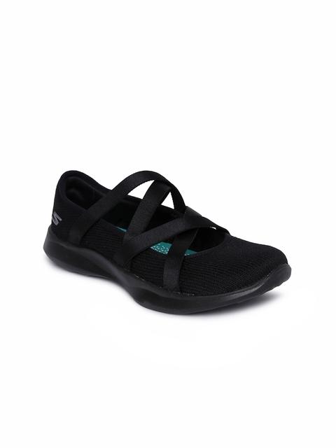 Skechers Women Black SERENE ELATION Walking Shoes