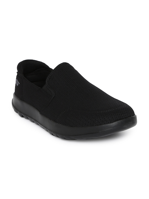 Skechers Men Black Adapt Ultra Leisure Walking Shoes