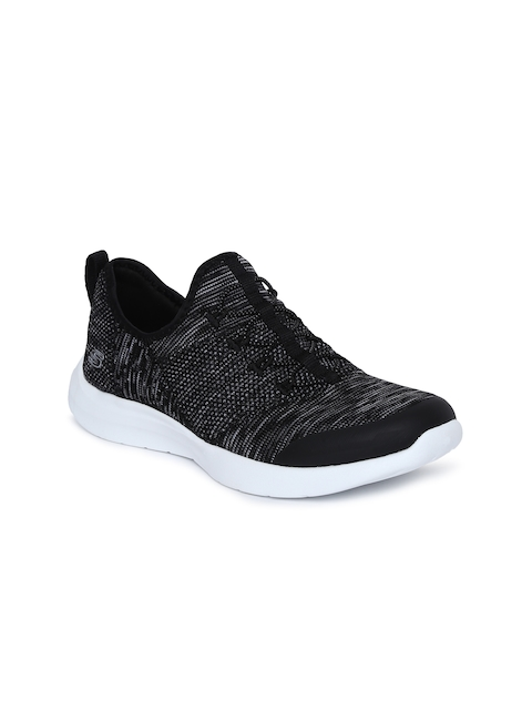 Skechers Women Black STUDIO COMFORT-MIX & MATC Walking Shoes