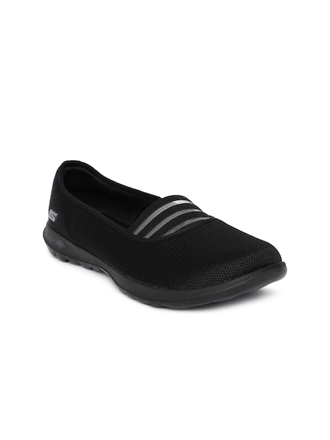 Skechers Women Black GO WALK LITE Walking Shoes