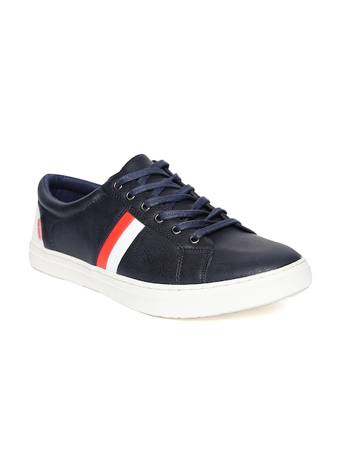 Flying Machine Men Navy Blue Sneakers