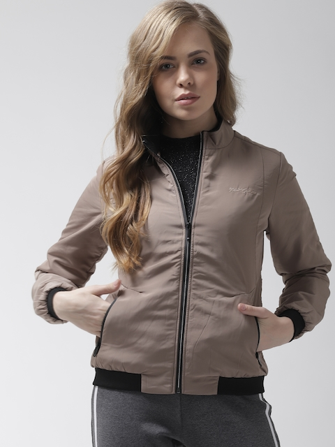 Fort Collins Women Khaki Solid Bomber