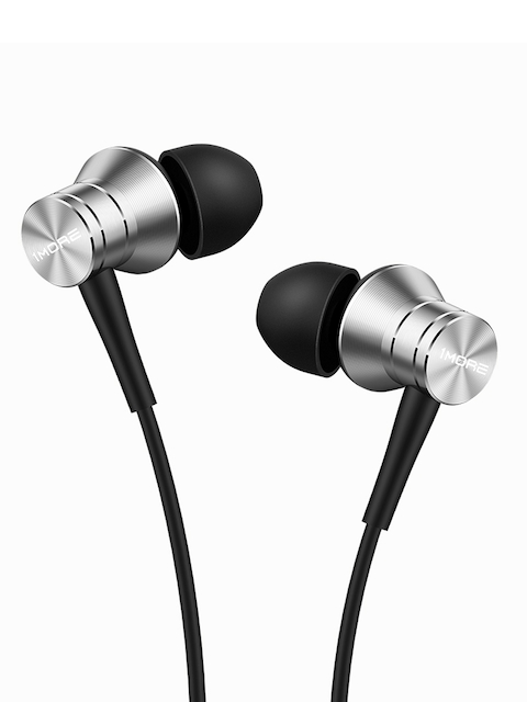 1MORE Silver Piston Fit Earphones with Mic