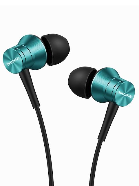 1MORE Unisex Blue Piston Fit Earphones with Mic