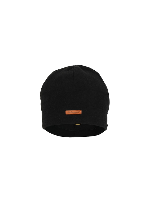 FabSeasons Unisex Black Solid Beanie