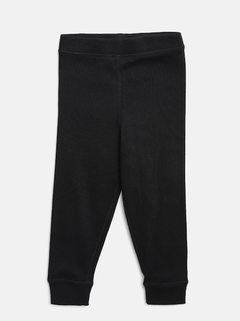 Marks & Spencer Boys Black Long John Thermal Tights T710227T