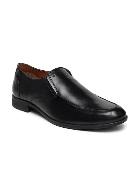 Arrow Men Black Formal Loafers