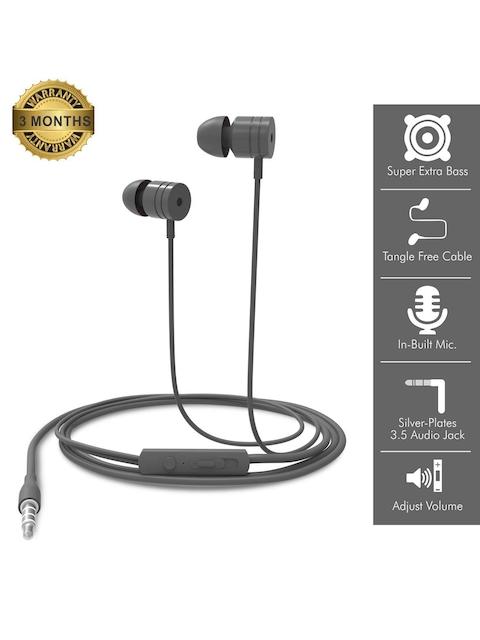 Portronics Grey Conch 204 In-Ear Wired Earphones