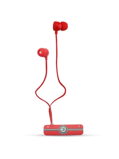 Portronics Red Harmonics 206 Wireless Bluetooth Stereo Headset