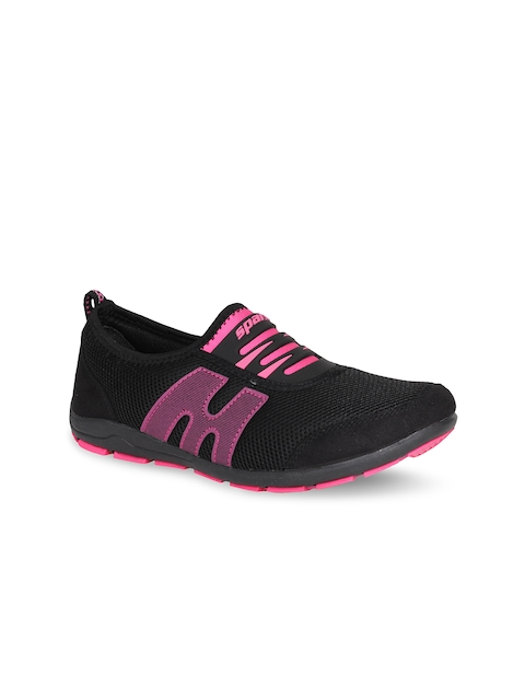 Sparx Women Black Running Shoes