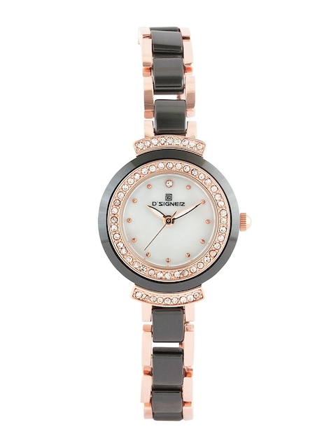 DSIGNER Women White Analogue Watch 677RGBCR
