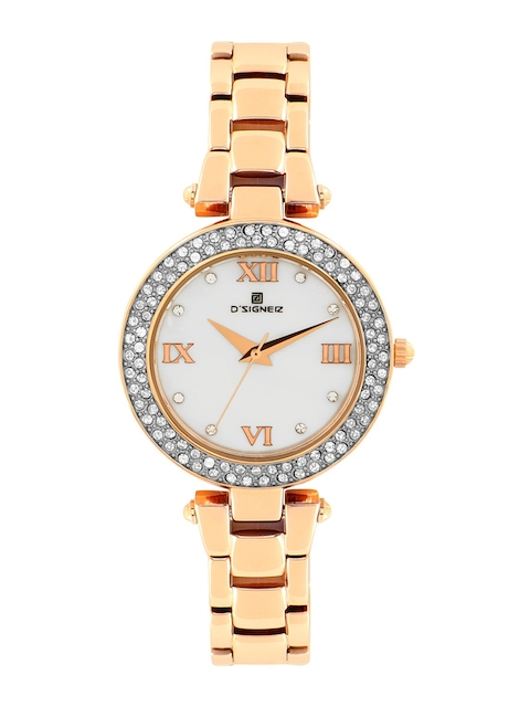 DSIGNER Women White Analogue Watch 627RGM.6