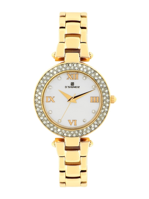 DSIGNER Women White Analogue Watch 627GM.6