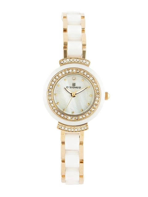 DSIGNER Women White Analogue Watch 677GWCR