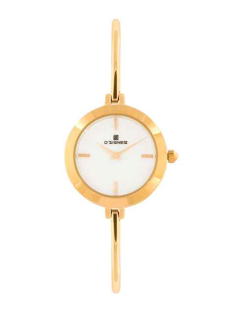 DSIGNER Women White Analogue Watch 752GM.6