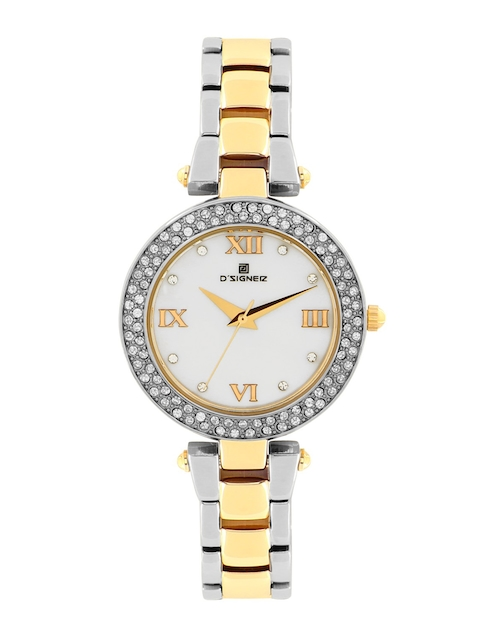 DSIGNER Women White Analog Watch 627TM.6