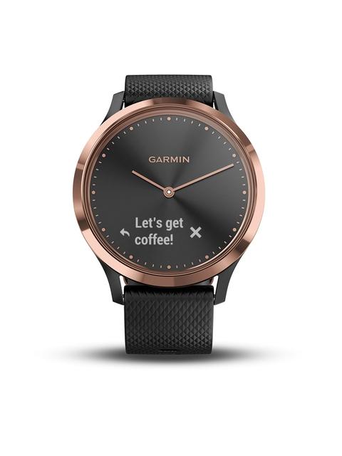Garmin Vivo Move HR Black-Rose Gold