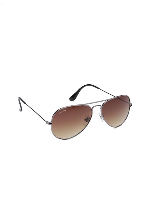 Fastrack Men Aviator Sunglasses NBM171BR4