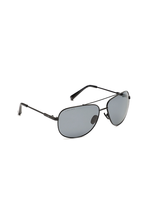 Fastrack Men Oval Sunglasses NBM131BK1P
