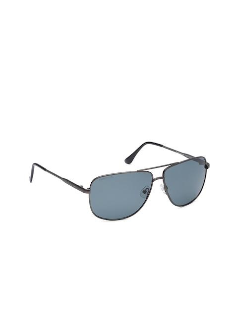 Fastrack Men Oval Sunglasses NBM183BK4P