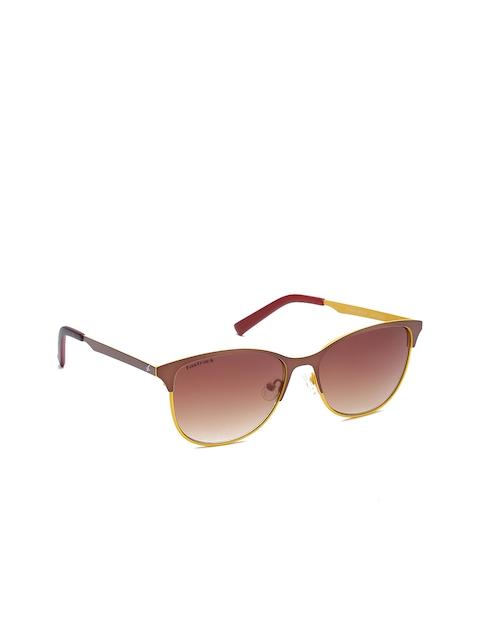 Fastrack Men Cateye Sunglasses NBM154BR2