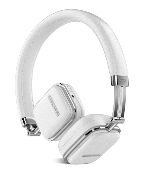 Harman Kardon Unisex White Soho Wireless On-Ear Headphones