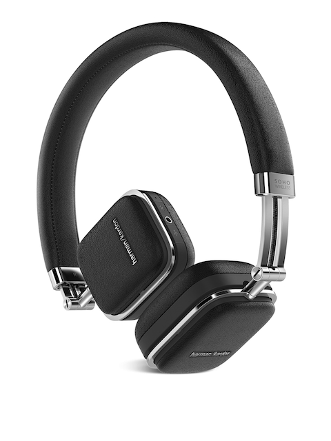 Harman Kardon Black Soho Wireless On-Ear Headphones