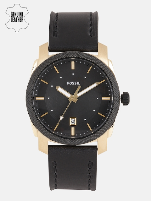 Fossil Men Black Analogue Watch FS5263I