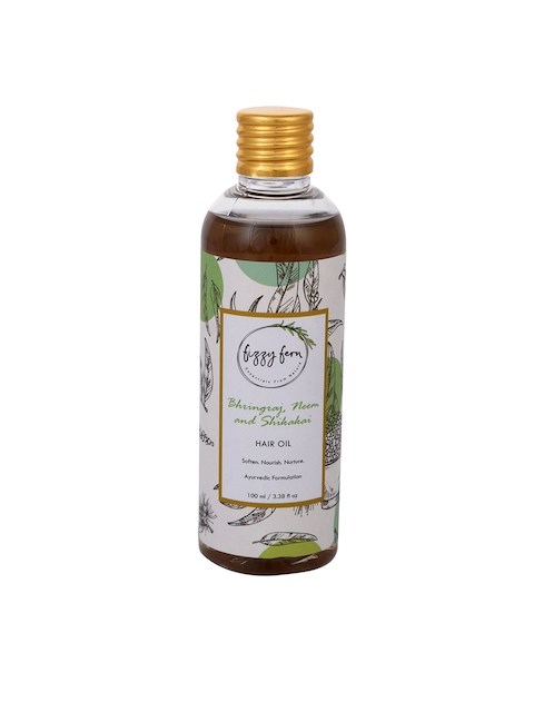 Fizzy Fern Bhringraj, Neem & Shikakai Hair Oil 100 ml