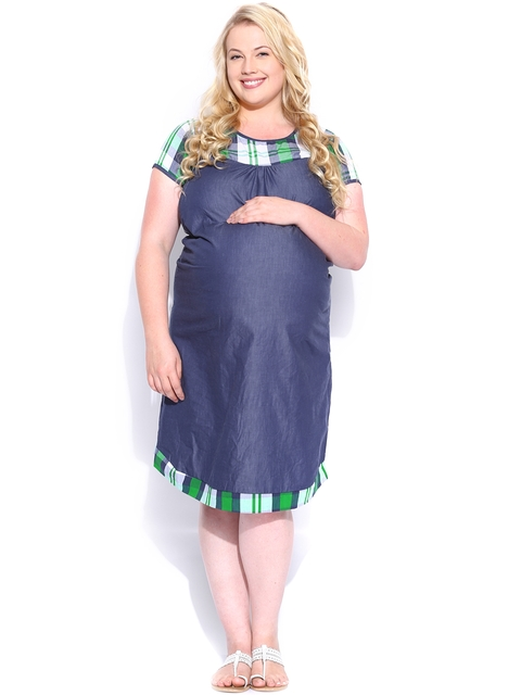 SDL by Sweet Dreams Navy Maternity Sleepwear MET-1103