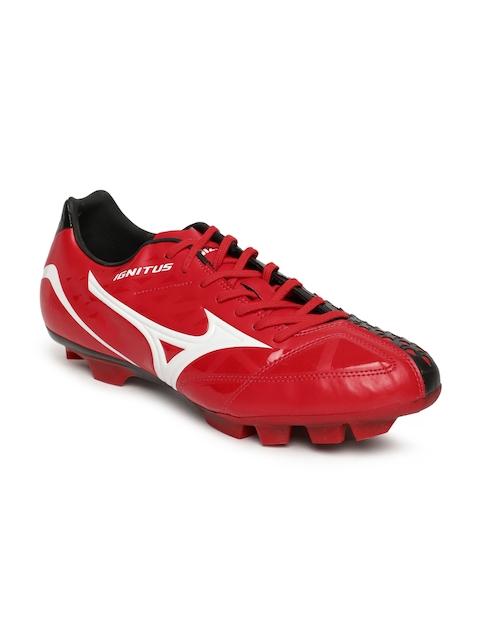 Mizuno Men Black & Red Ignitus 4 Md Football Shoes