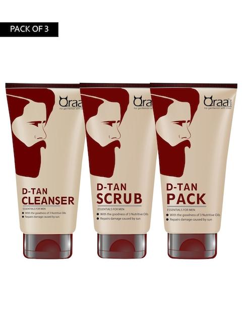 Qraa Men D-tan 3-Steps Facial Kit 300 g