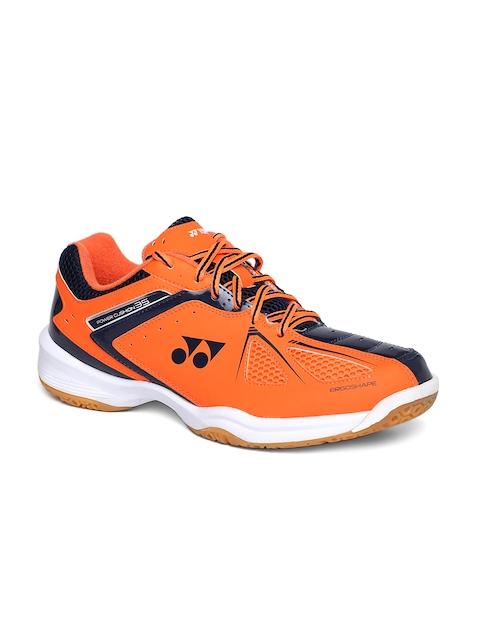 YONEX Men Orange SHB 35 EX Badminton Shoes