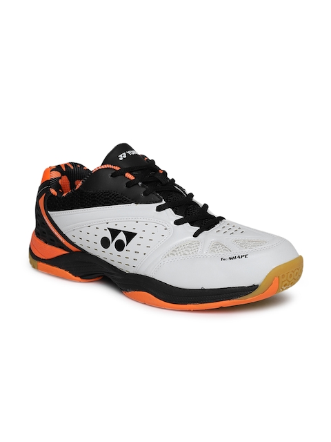 YONEX Men White Aero Comfort Badminton Shoes