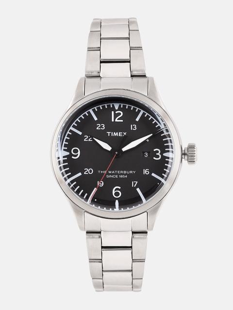 Timex Men Black Analogue Watch TW2R38700