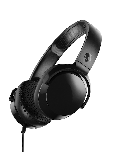 Skullcandy Black Riff On-Ear Headphone with Mic S5PXY-L003