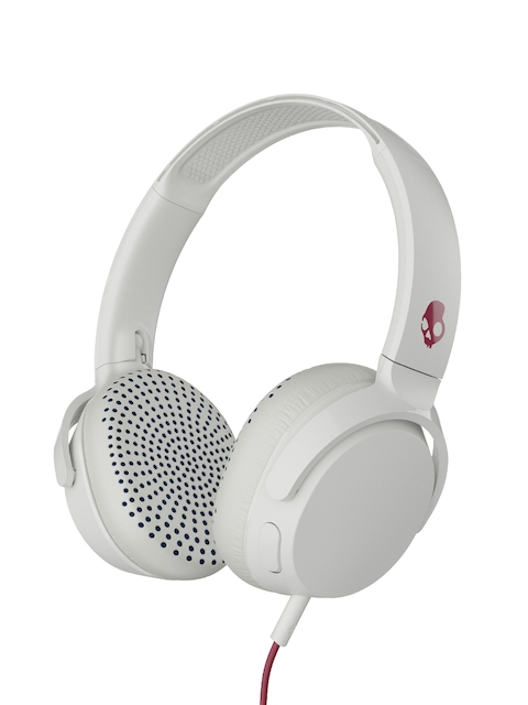 Skullcandy Grey Riff S5PXY-L635 On-Ear Headphone with Mic