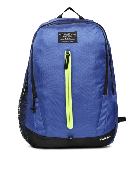 Gear Unisex Blue Solid Backpack