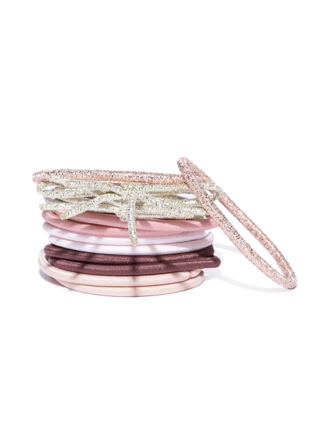Accessorize Multicoloured Set Of 12 Ponytail Holders