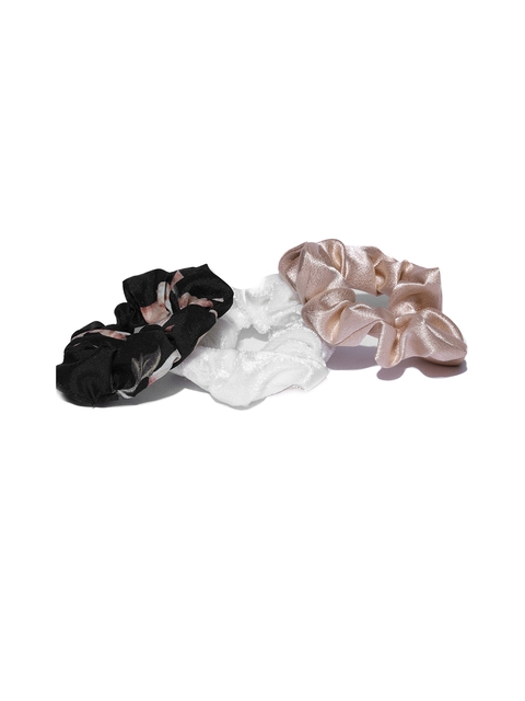 Accessorize Women Set of 3 Scrunchies