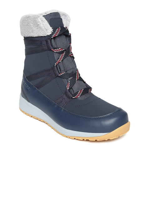 275c24e8e3fbd4 30%off Salomon Women Navy Blue HEIKA LTR CS WP Mid-Top Hiking Shoes