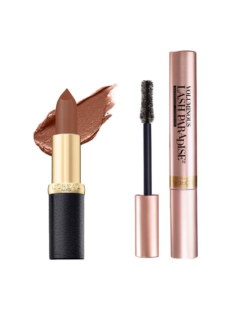 LOreal Paris Set of Lipstick & Mascara