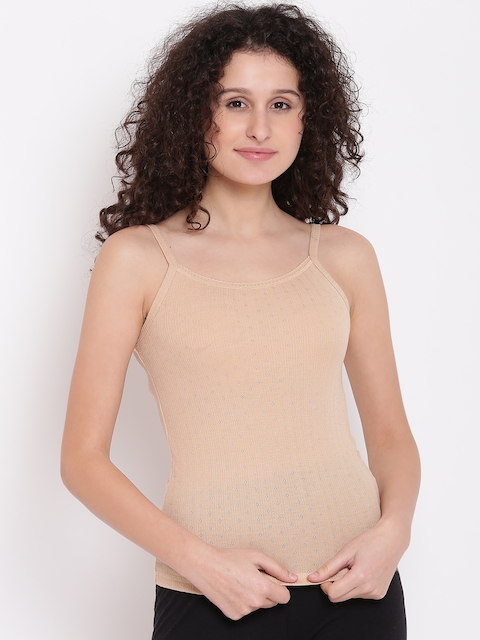 Kanvin Women Nude-Coloured Thermal Top 2110