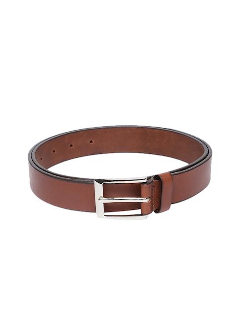 Hidesign Men Tan Brown Solid Belt
