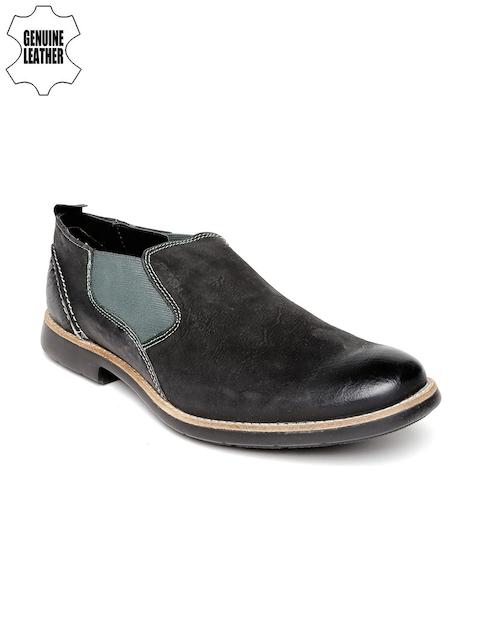 Ruosh Casual Men Black Boots