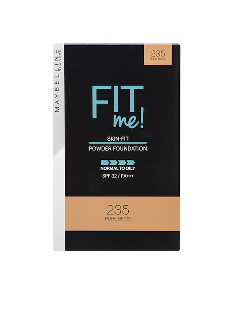Maybelline 235 Pure Beige New York Fit Me Two Way Cake Powder Foundation 9 g