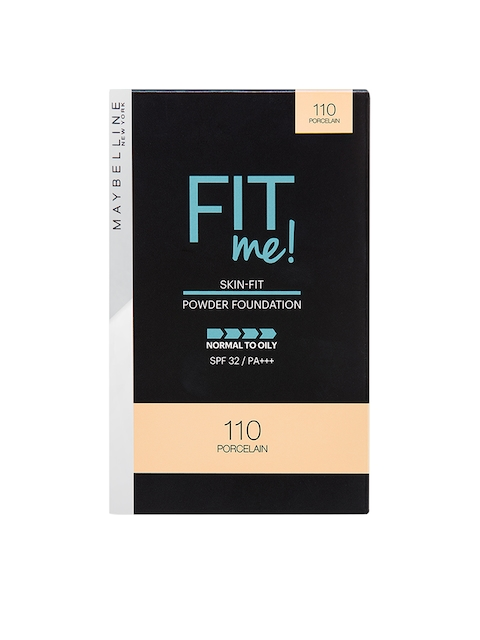 Maybelline New York 110 Porcelain Fit Me Two Way Cake Powder Foundation 9 g